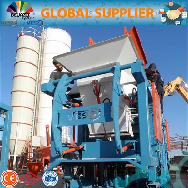 10.2 paving block machine automatic
