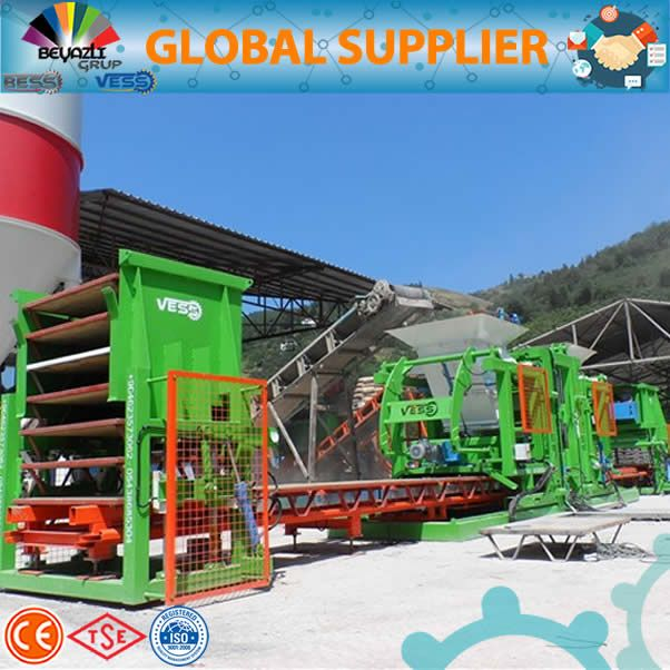 Paving Block Making Machine, Double hopper brick making machine,paver block making machine