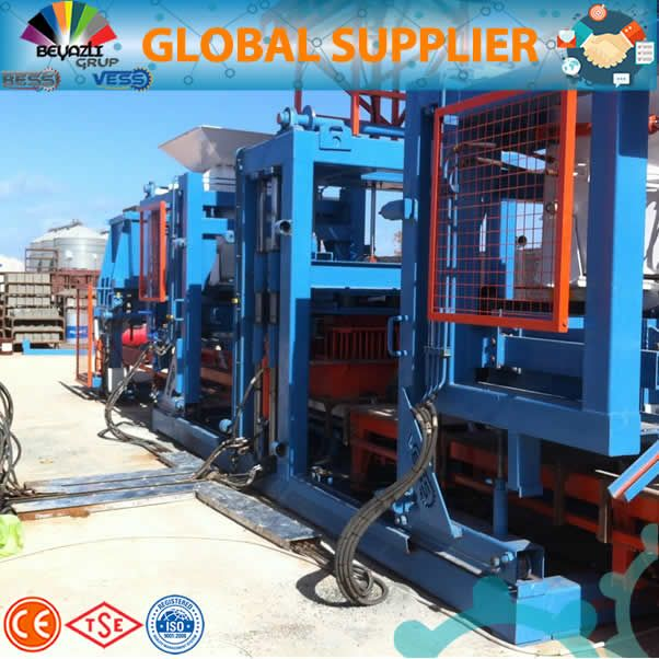 18.1 brick block machine full automatic