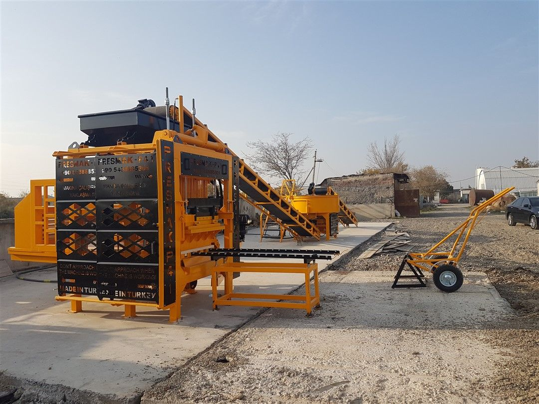 Paving Block Machines and Concrete Batching Plants in Ivory Coast