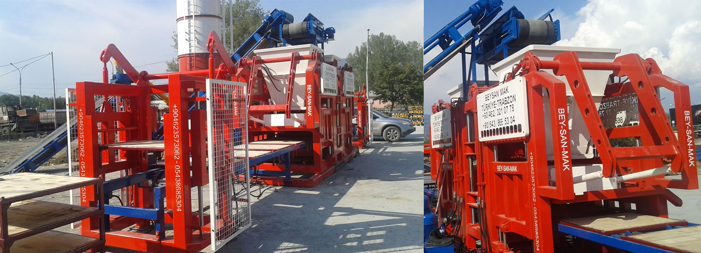 Fully Automatic concrete Block Making Machine Fully Automatic System