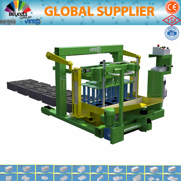 Manual Block Making MachineSmall block making machine