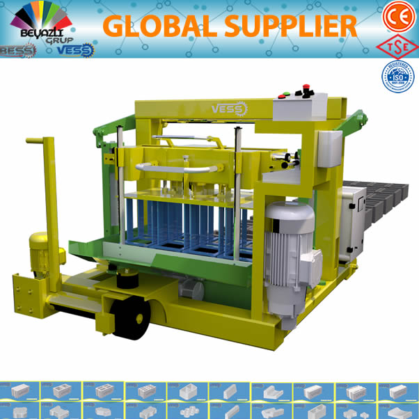 Manual Block Making MachineSmall block making machine1