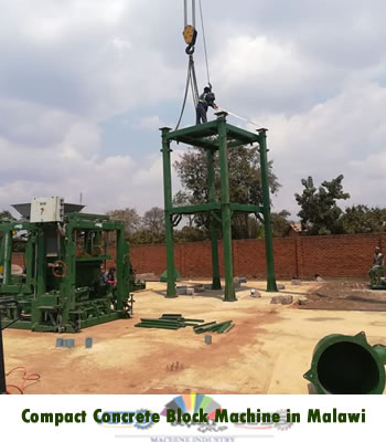 compact concrete block making machine in malawi
