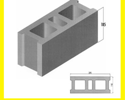 concrete block Mold Mould for Cement Block3