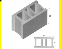 concrete block Mold Mould for Cement Block6