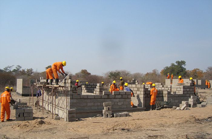 construction zambia