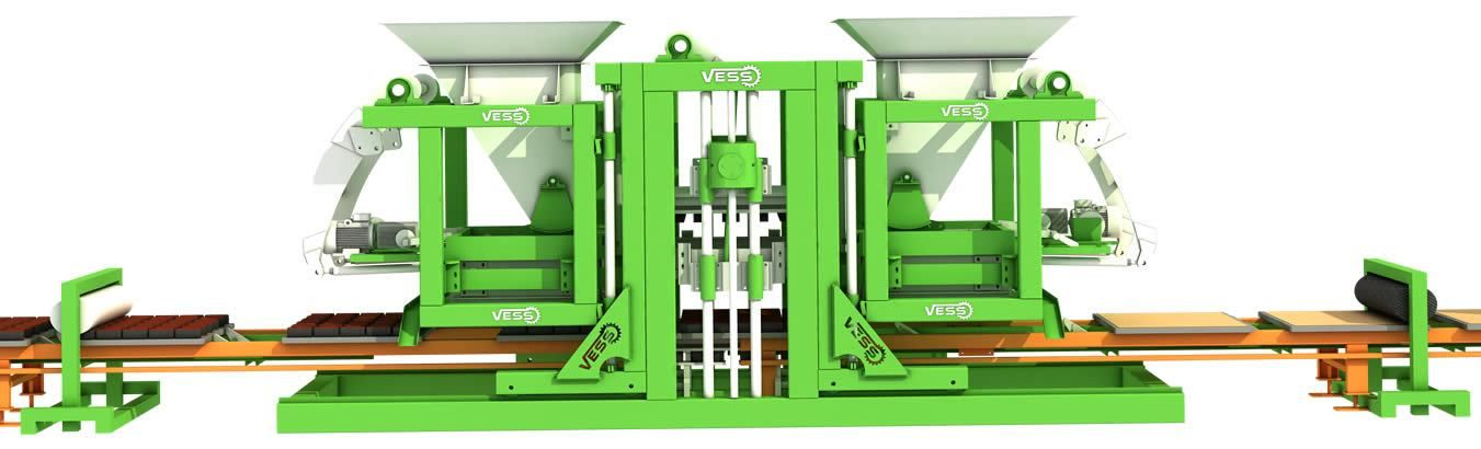 neden bizusty paving block machine