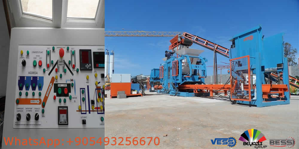 paving block making machine For sale